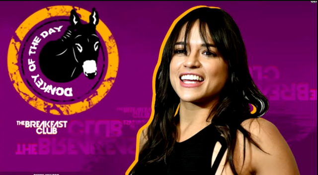 Donkey of the day (Michelle Rodriguez) (a response by Jack)