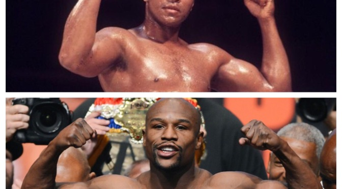 Past vs. Present Mayweather vs. Ali…Symbols of an Era (A Blog by Jack)